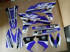 New YZF 250 10 11 12 13 PTS4 Graphics Sticker Decals Kit Enduro Motocross YZF250